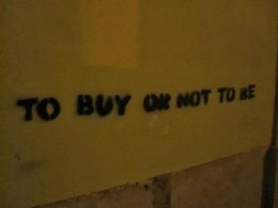 """""""Comprar o no ser"""""""