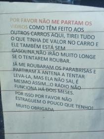 Los que piden con humildad (Lisboa)