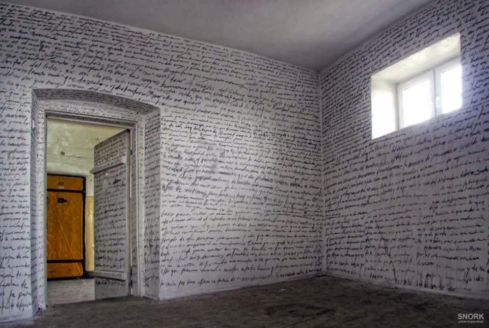 Esta era la prisión de un preso escritor (Polonia)