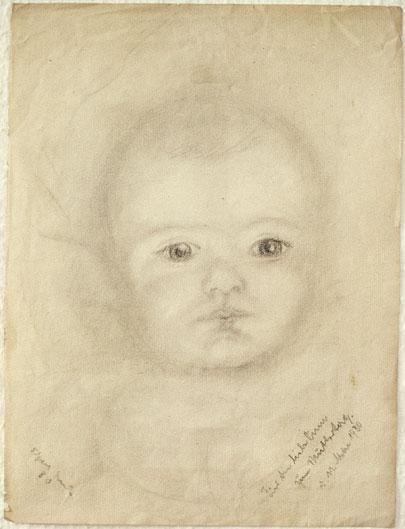 El padre de Michael Ende, Edgar, era Pintor. Así lo retrató en 01930.
