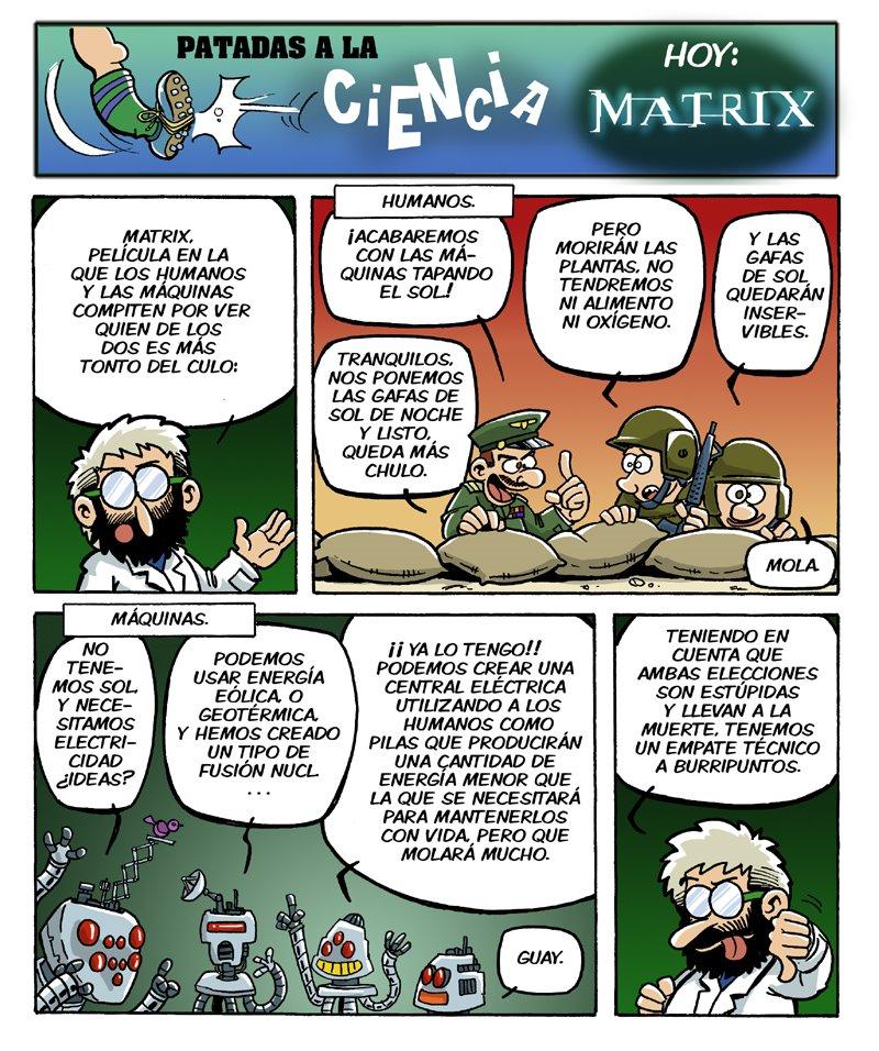 Patadas a la ciencia 02 matrix